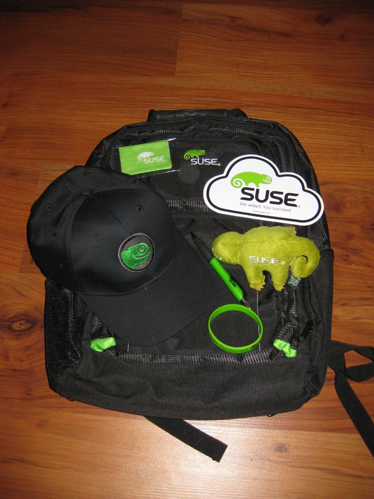 The bag of goodies I got form Suse.