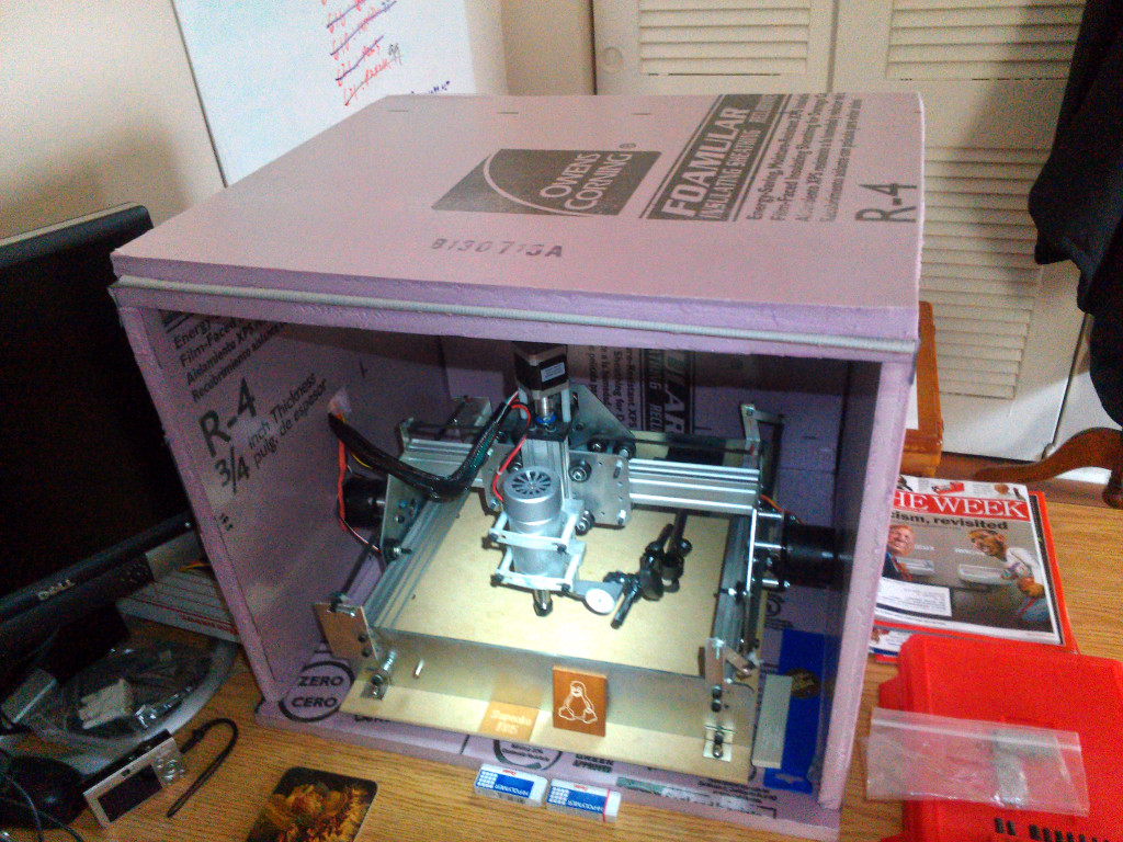 Shapeoko in ugly pink box